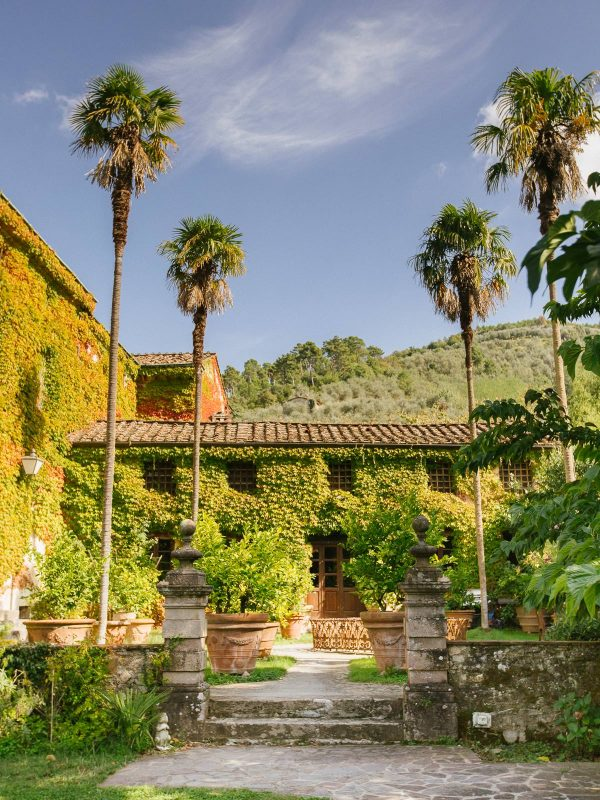 the facade of villa michaela vorno