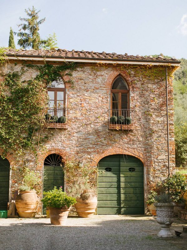 details of a building in villa michaela in vorno