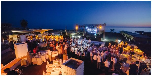 beach club versilia for wedding