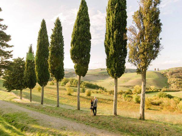amazing countryside of tuscany