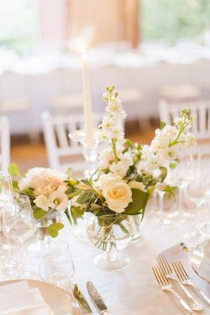 table decor for wedding reception