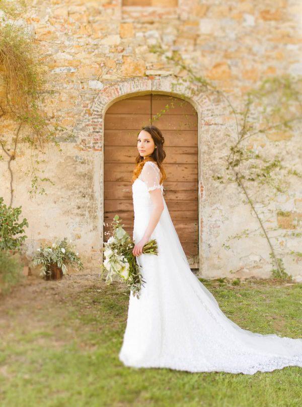 bridal portrait at the venue