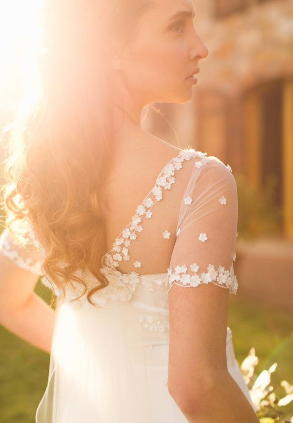 marianna lanzilli wedding gown detail