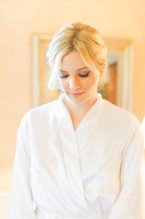 bridal portrait before getting dressed