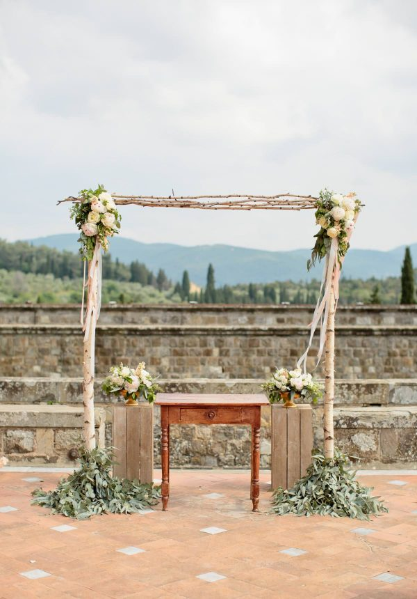 ceremony on the terrace