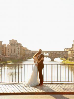 wedding photos in Florence city centre