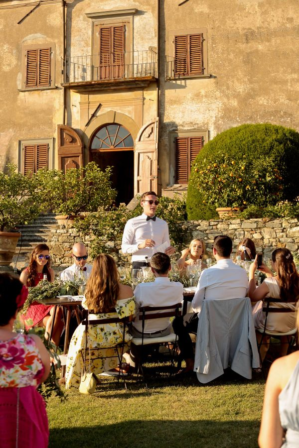 speech of the groom at sunset