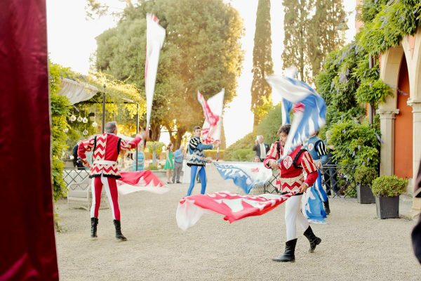 sbandieratori show in florence