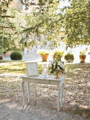 detail from the setting by il bianco e il rosa wedding planners