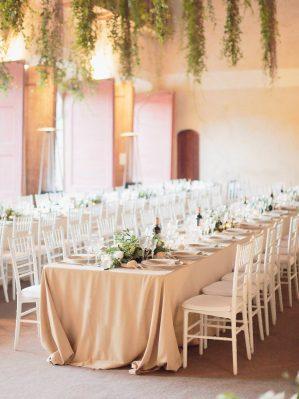 wedding decor by the limonaia of villa grabau