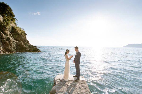 elopement in Cinque Terre