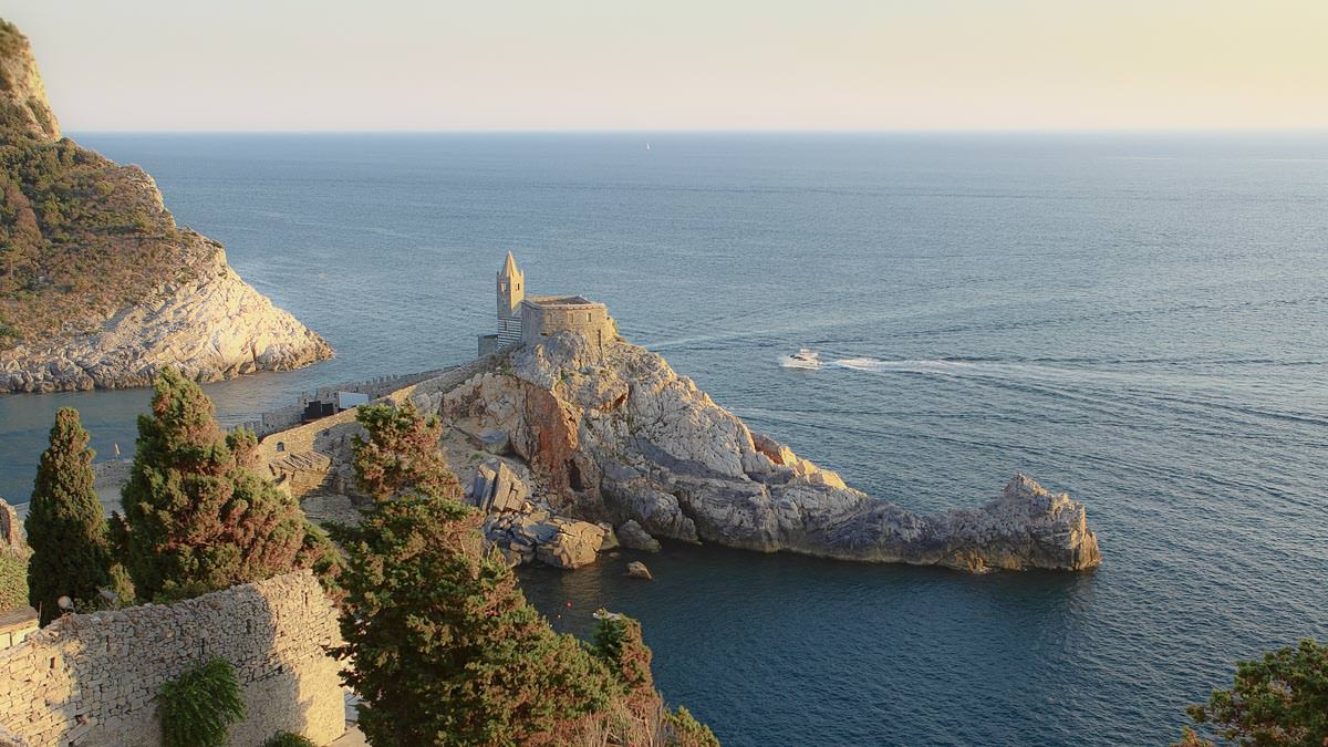 portovenere from the top