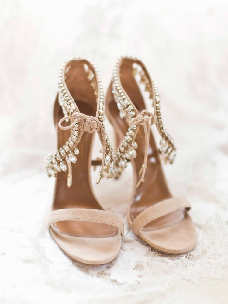 Aquazzurra bridal heels