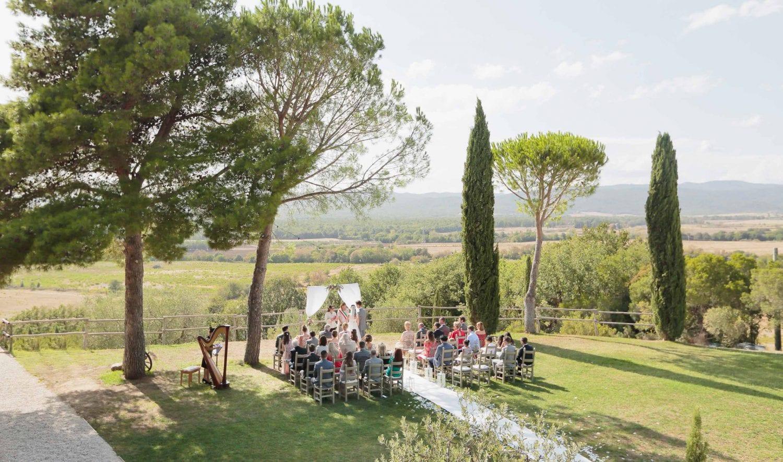 ceremony site at conti di san bonifacio