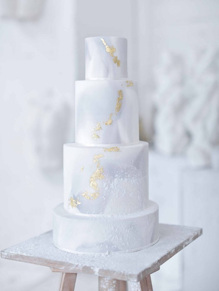 the wedding cake by sugar cups italy