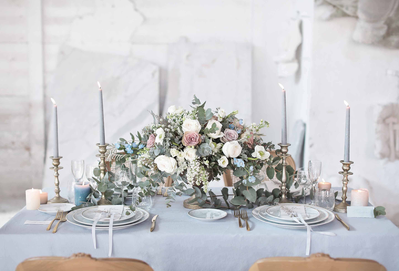 table decor by ilbiancoeilrosa and flowers living