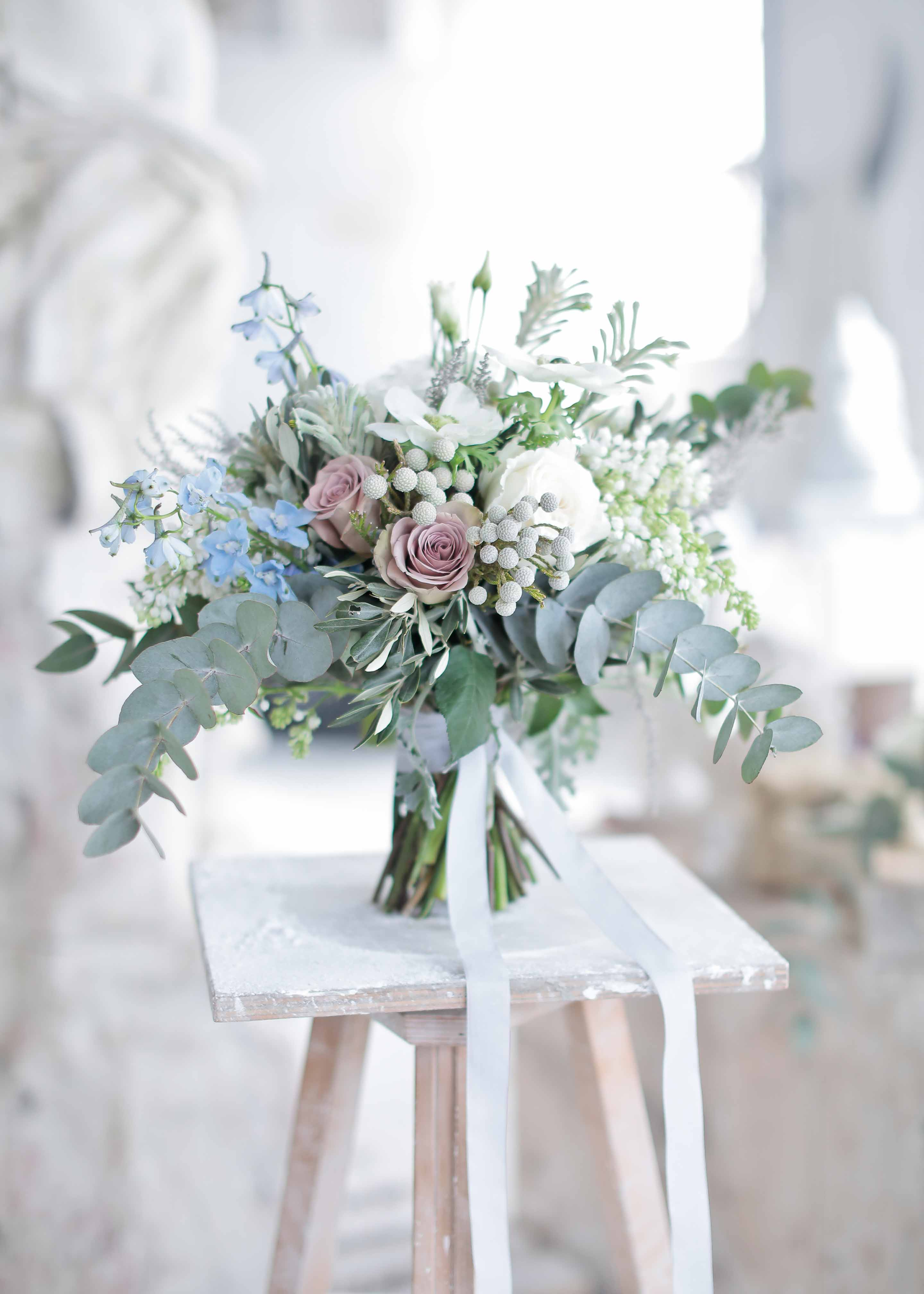 bridal bouquet by flowersliving
