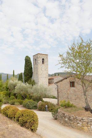 the tower of Castello di Spaltenna