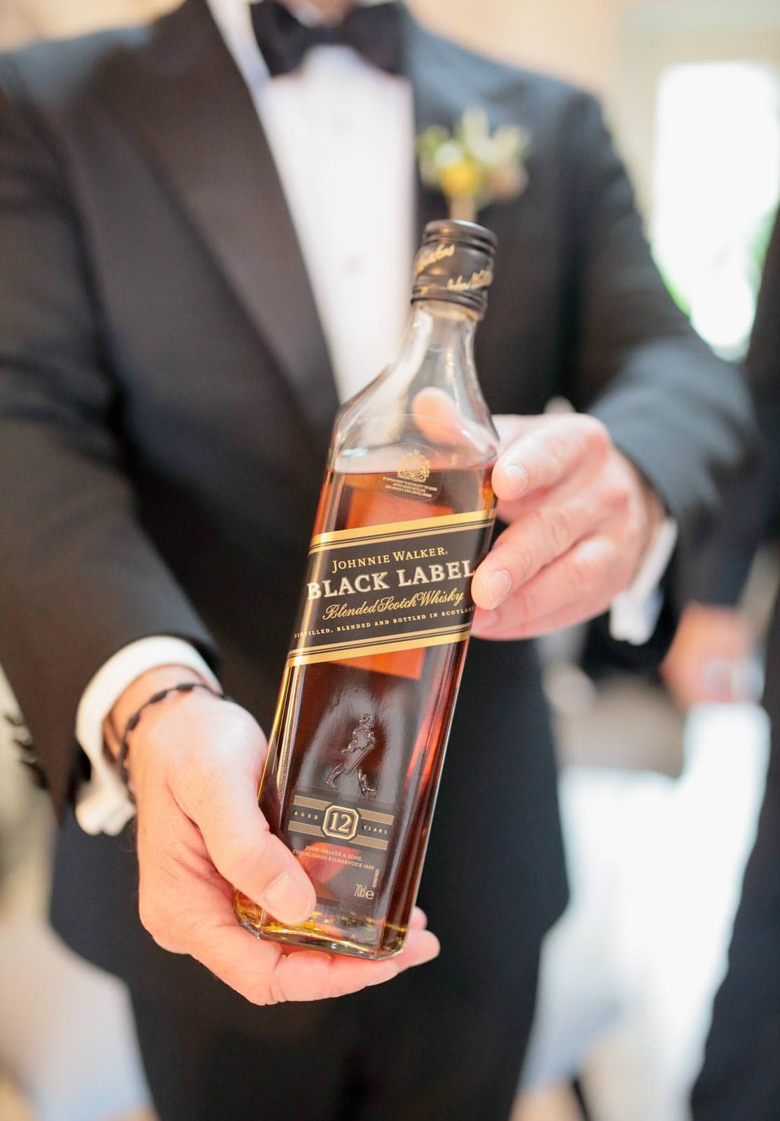 johnnie walker black laber for the toast