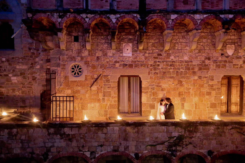 couple wedding photo by castello di vincigliata