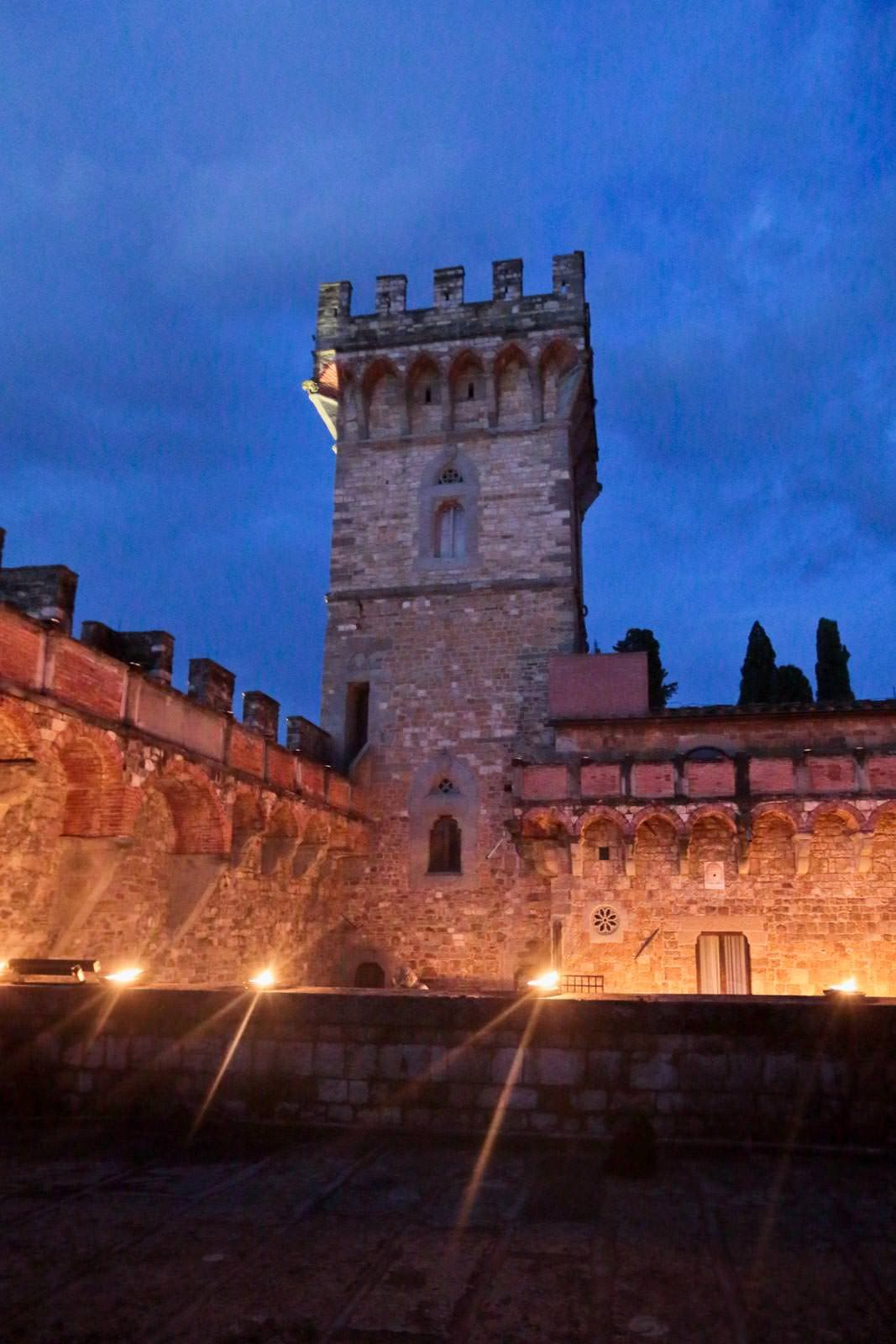 the tower of vincigliata