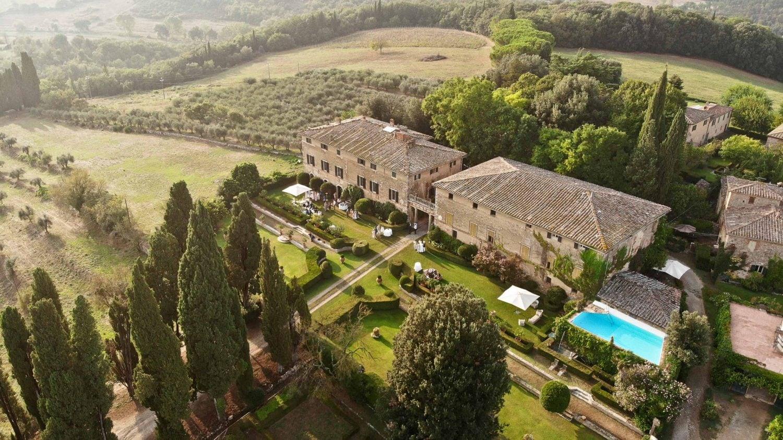 aerial photo of borgo stomennano