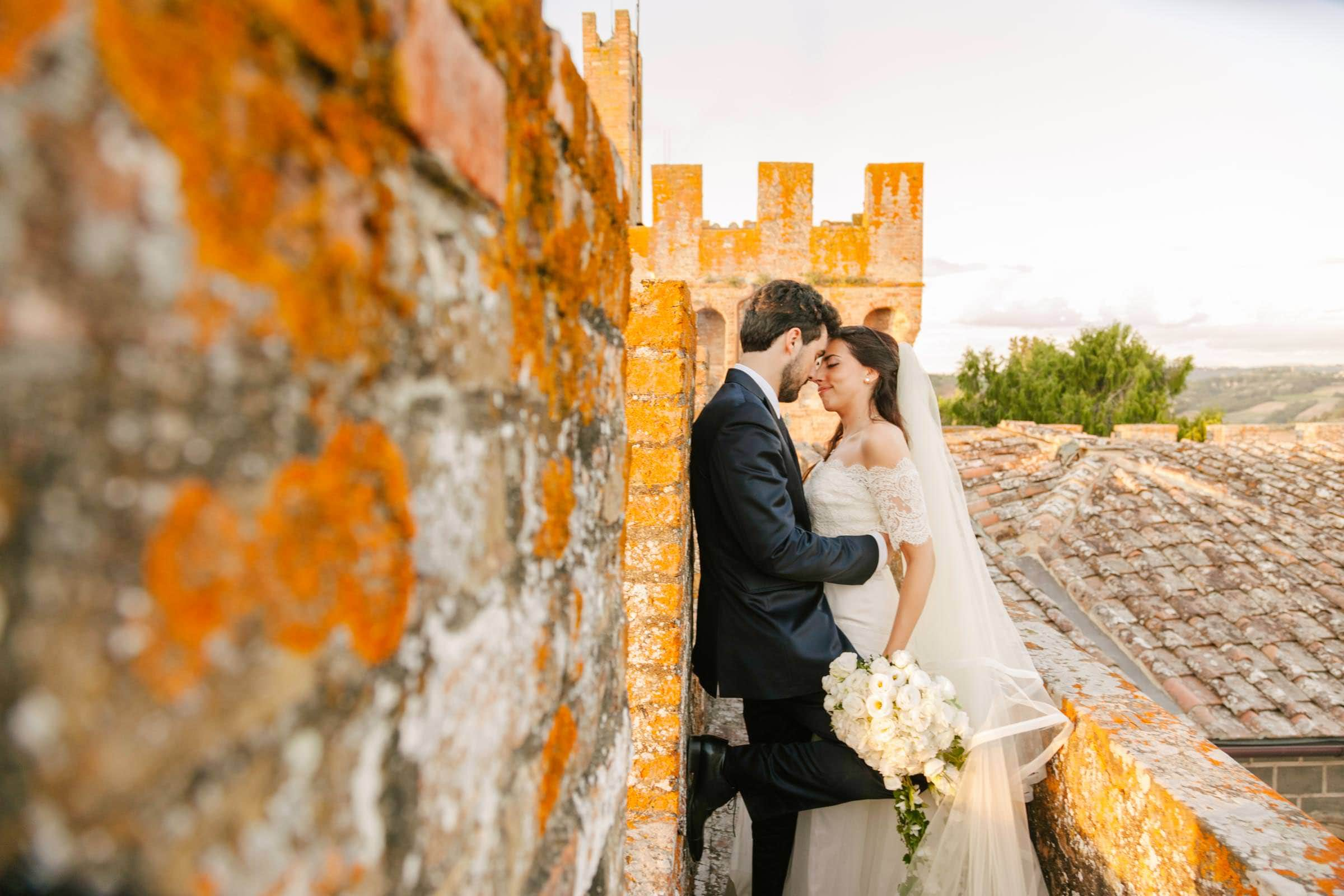 castello di oliveto wedding photos